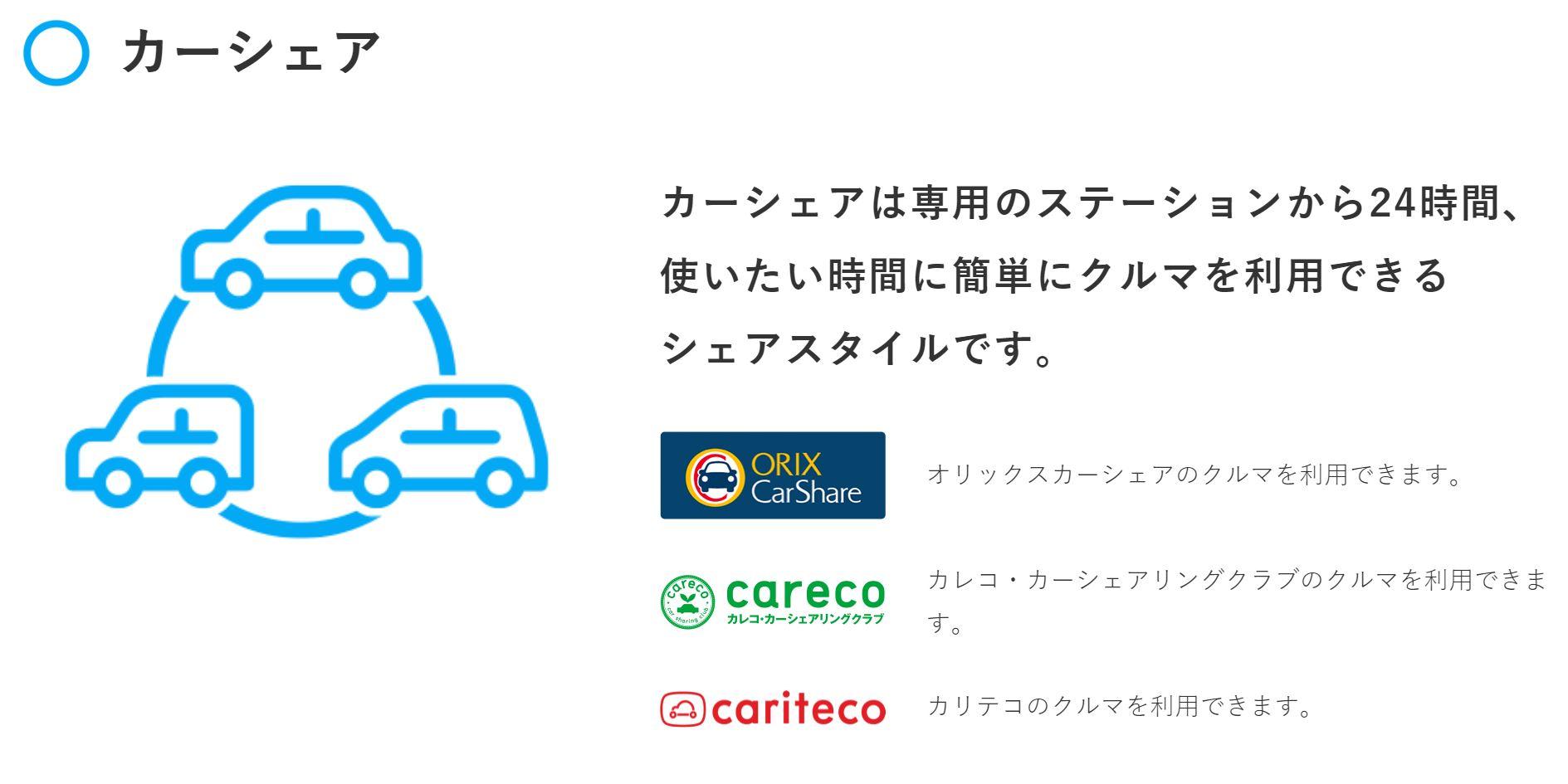 d-car-share3社