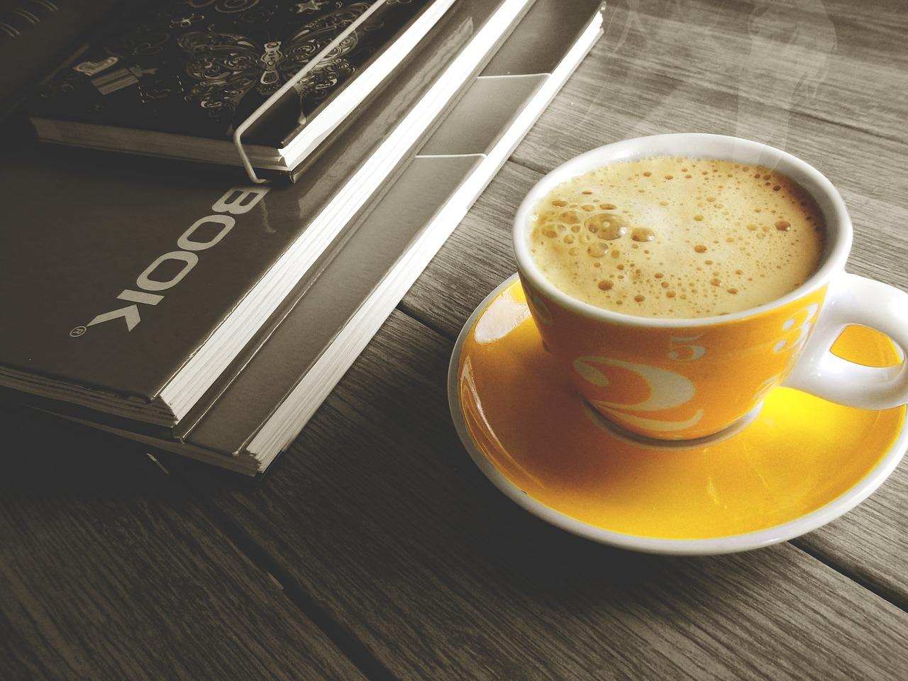 コーヒーブレイクで休憩