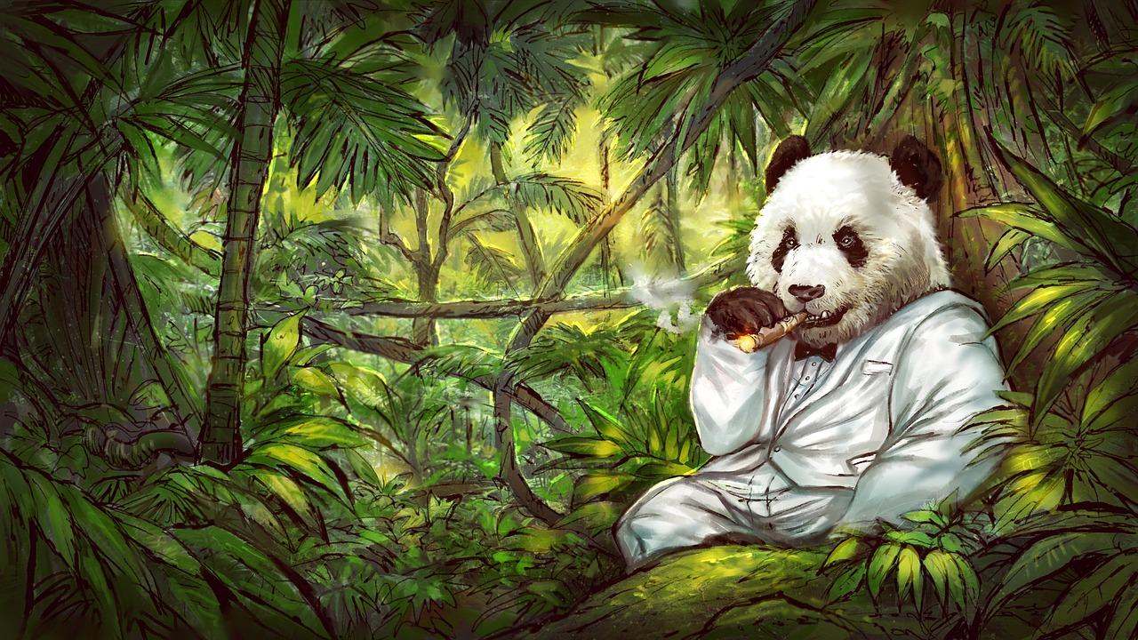 煙草 パンダ